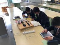 情報電子類型課題研究(シーケンス班)